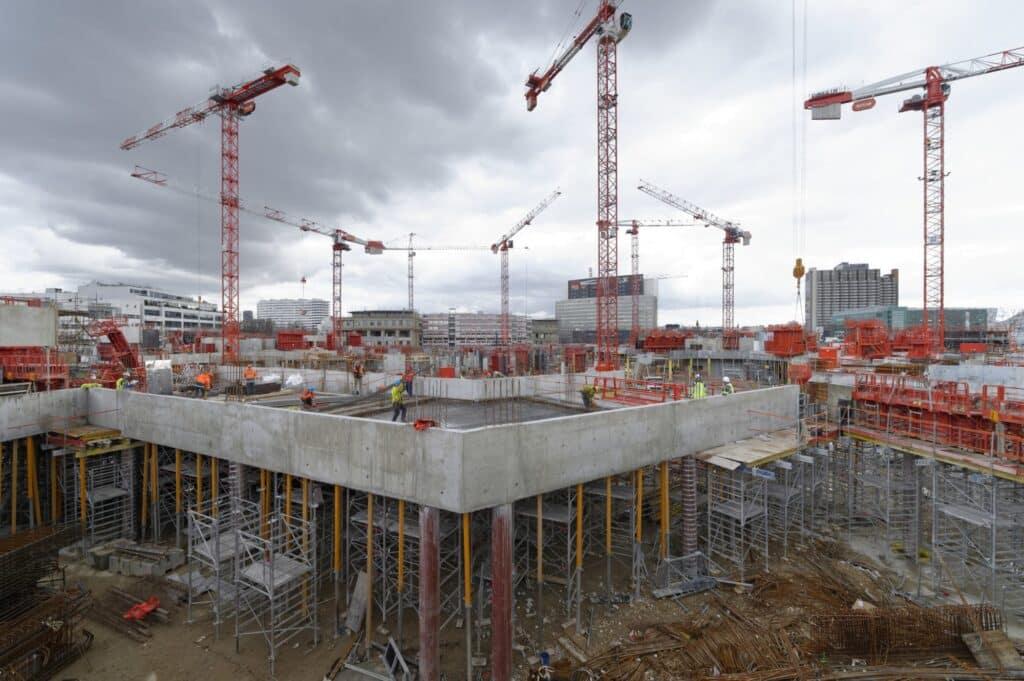Conducteurs de travaux sur les chantiers de construction for Chantiers de construction